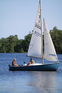 O'Day Rhodes sailboat